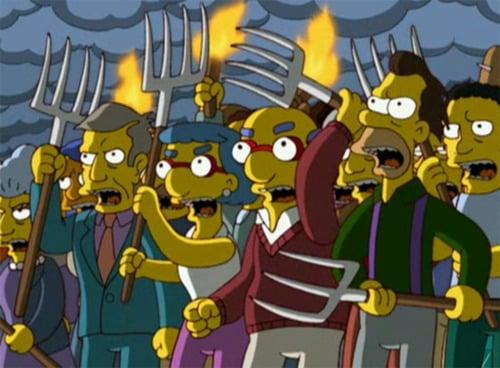 Simpsons Pitchforks