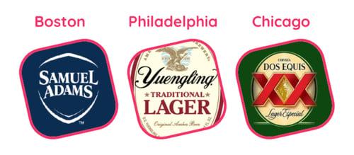 Helixa_sponsorships three cities beer brands