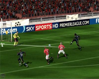 FIFA game in-stadium sponsorships